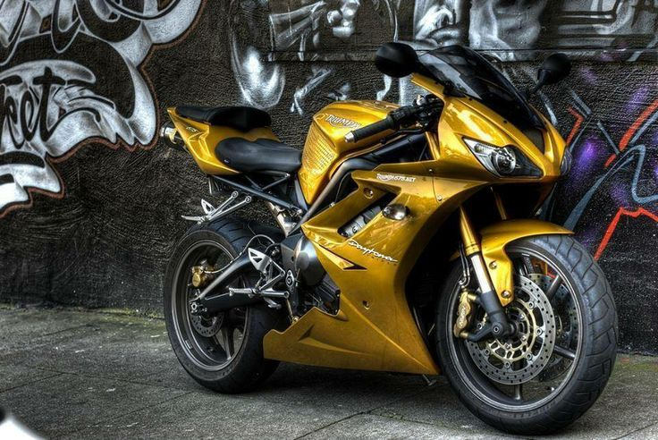 Triumph Daytona 675: Don't see many of these, that's why I like it...different.