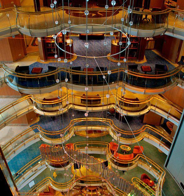 Atrium Jewel Of The Seas Royal Caribbean Int L Royal