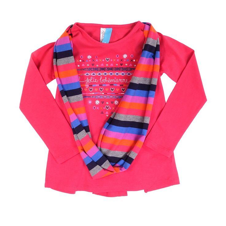 Collection Automne-Hiver, Filles, T-shirt, tuniques, manteaux, habit de neige