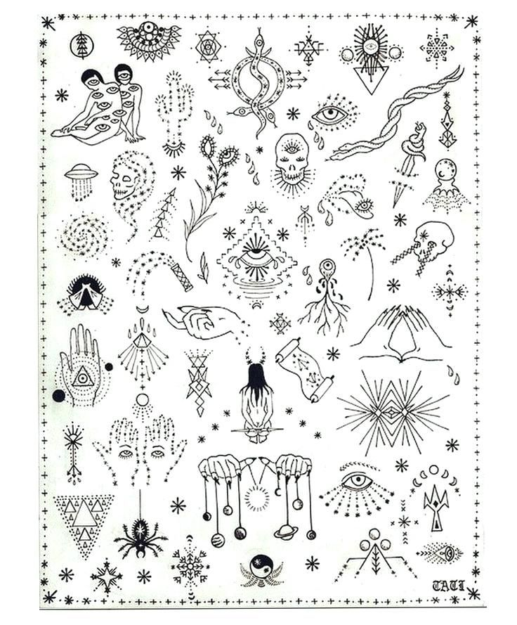 image about Free Printable Tattoo Flash named Totally free Printable Tattoo Flash Sheets Take The Perfect Tattoo Your self