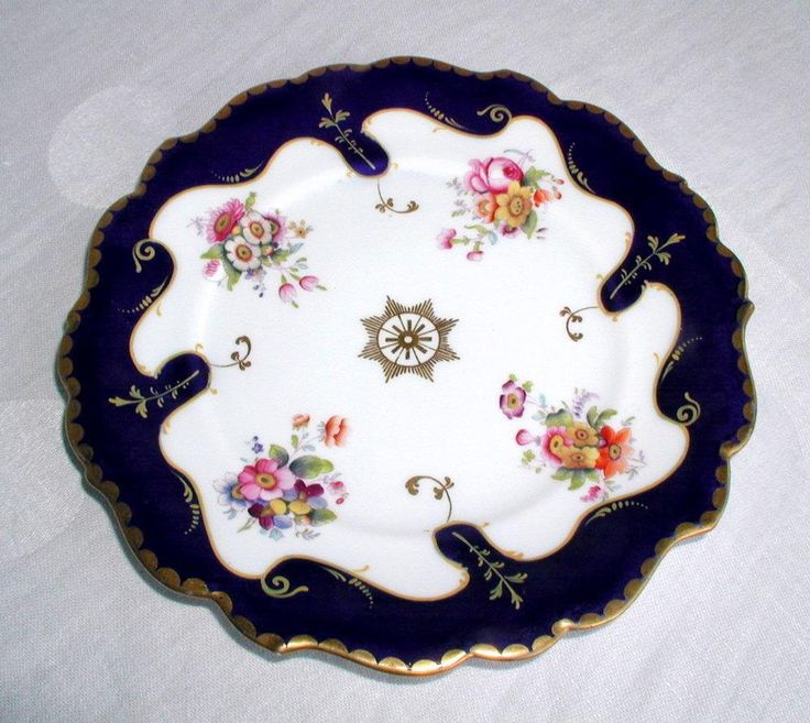 Similar to my cup and saucer , Ridgway plate, c 1835, Imperial mark