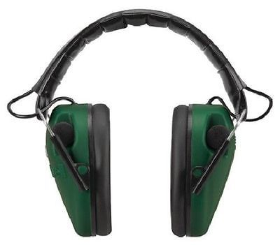 Caldwell E-MAX Low Profile Electronic Hearing Protection Green and Black, 487557