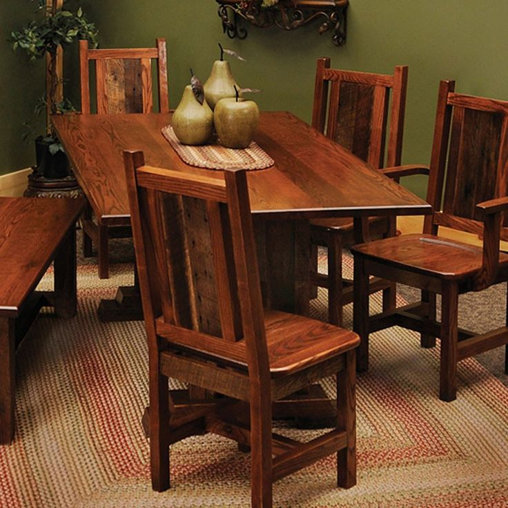 Barnwood Dining Room Tables: 118 Best Images About Dining Furniture On Pinterest