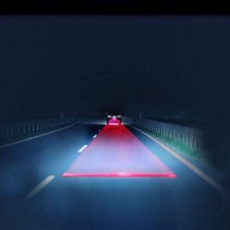 СВЕТОДИОДНЫЕ Лазерные Анти Столкновение сзади Автомобиля Хвост Противотуманные фары Авто Стояночный Лампы Разведение Предупредительный Световой Сигнал автомоб
