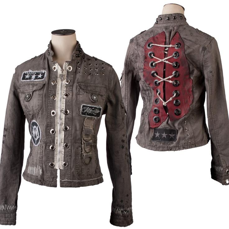 Custom Jacket WSCJL-28  www.wornstar.com