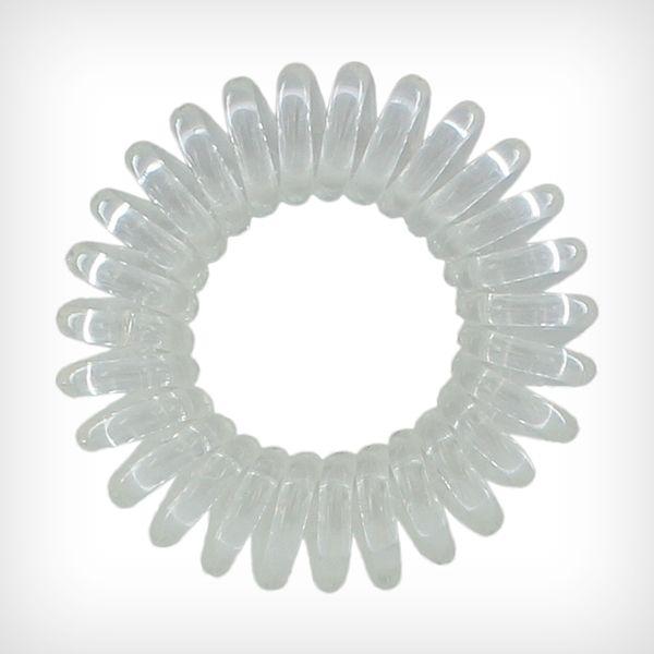 The Traceless Hair Ring 3-pack Crystal Clear - Invisibobble - Hårborste & tillbehör - Hårvård - NordicFeel.se