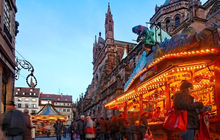 In the weeks leading up Christmas, holiday markets open across Europe and America as part of an annual tradition. Crowds gather to watch Christmas carolers, lantern processions, and tree lightings; otherwise, they're there to browse stands of handmade gifts, toys, and decorations.