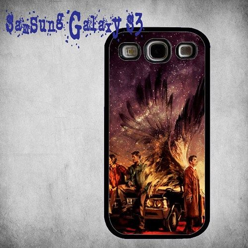 Supernatural Painting Art Print On Hard Plastic Samsung Galaxy S3, Black Case