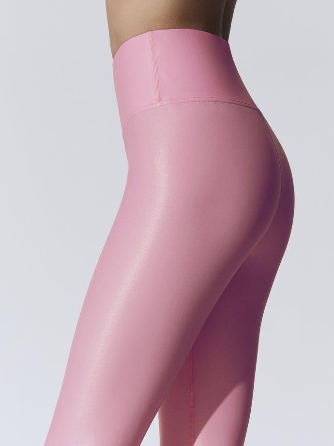 ddf132c737782 CARBON38 TAKARA High Waisted Takara Legging Flamingo Pink LEGGINGS