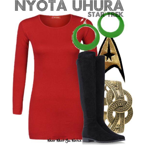 inspired by nichelle nichols as nyota uhura on star trek - Uhura Halloween Costume