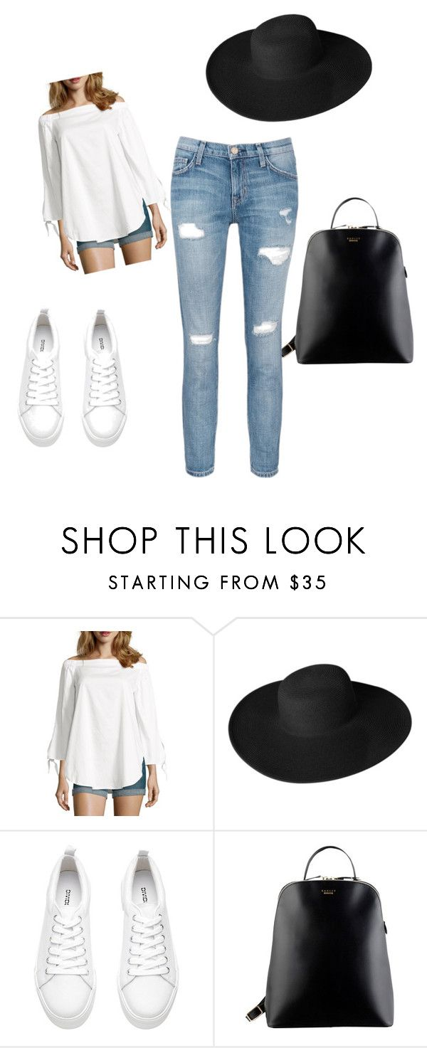 """Untitled #36"" by balog-viki on Polyvore featuring Wyatt, Dorfman Pacific, Radley and Current/Elliott"