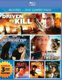 Driven to Kill/Supercop/Bravo Two Zero/Project A/Project A 2/Dragon Lord [2 Discs] [Blu-ray/DVD]
