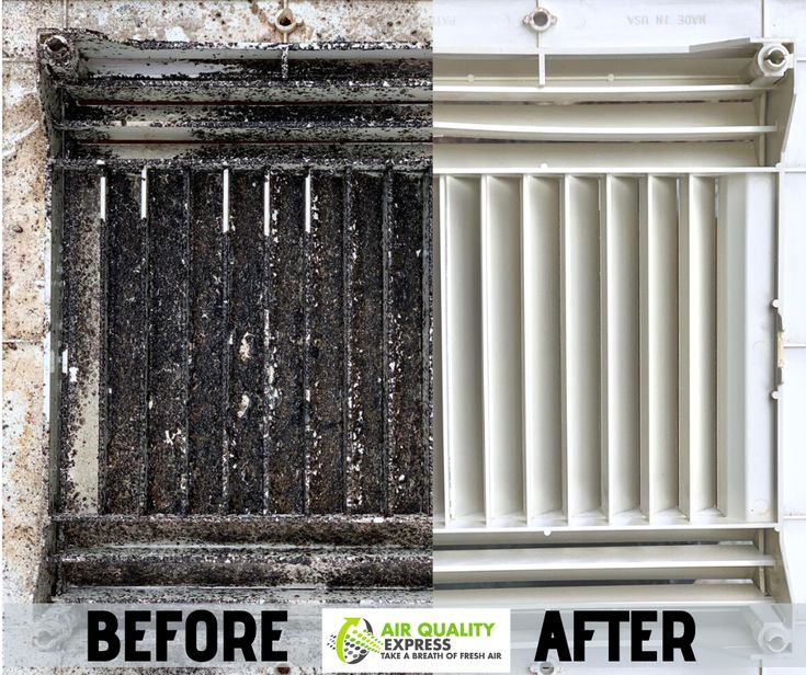 Before / After Air Duct Cleaning in 2020 Air duct, Clean