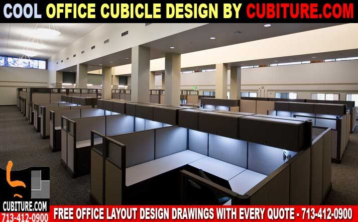 """Cool Office Cubicles For Sale In Houston, Texas Cool Office Cubicles The word """"cool"""" may not immediately come to mind when you think of cubicles. After all, they've got a pretty boring — not to mention inaccurate and unfair — rap. Cubicles were engineered half a decade ago to support workplace innovation, and they've been doing so in a variety of incarnations ever since. Here are some cool features that just might make you rethink your position on office cubicles."""
