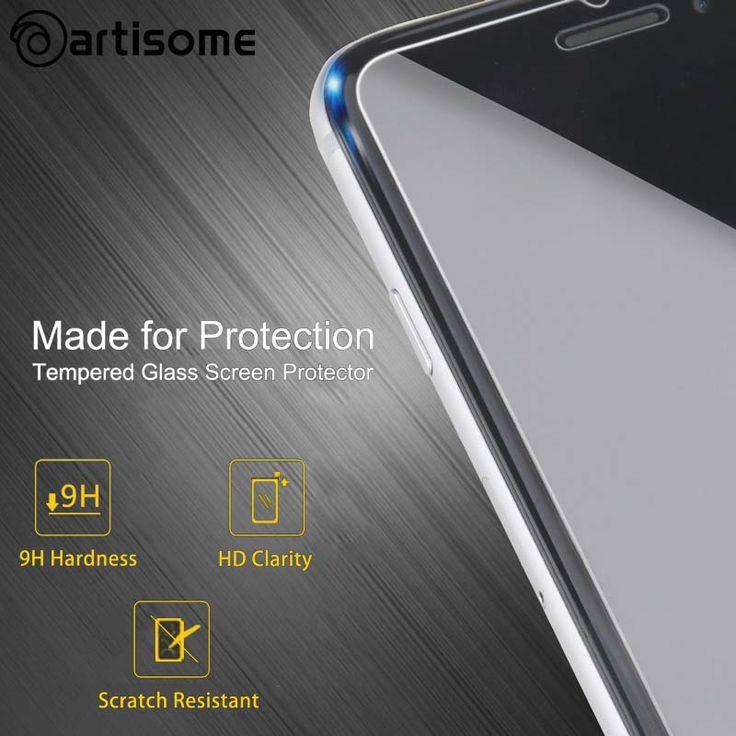 Kaca untuk iphone 7 6 6 s ditambah se 5 s 5 5c tempered kaca screen protector phone cover untuk iphone 6 5 s 5 kasus pelindung ARTISOME