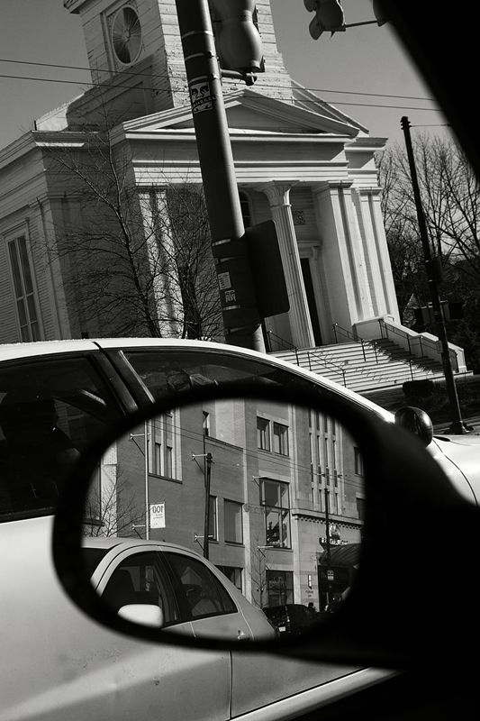 Lee Friedlander - Reflections and cars.