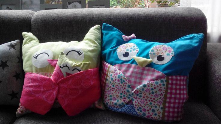 Owl pillow s uilenknuffel