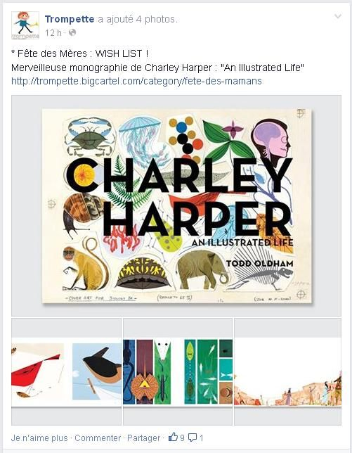 Charley Harper pour la Fête des Mères chez Trompette!