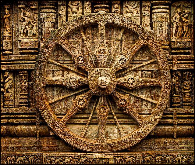 KONARK SUN TEMPLE - the wheel of time