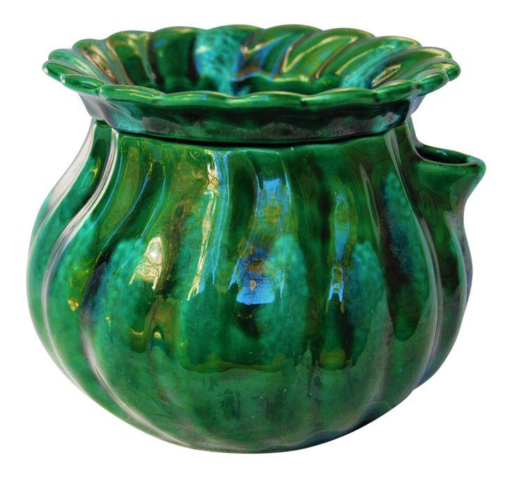 Vintage Large African Violet Self Watering Pot on Chairish.com  #32- Grandma Womack
