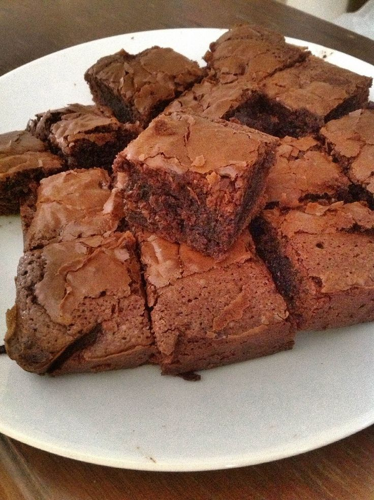 #Hot #Fudge #Brownies #Best #Chocolate #Chip