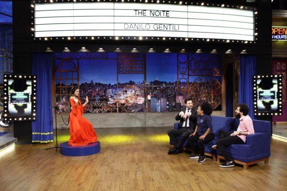 Tini Stoessel, a 'Violetta' da série do Disney Channel, participa do 'The Noite com Danilo Gentili'