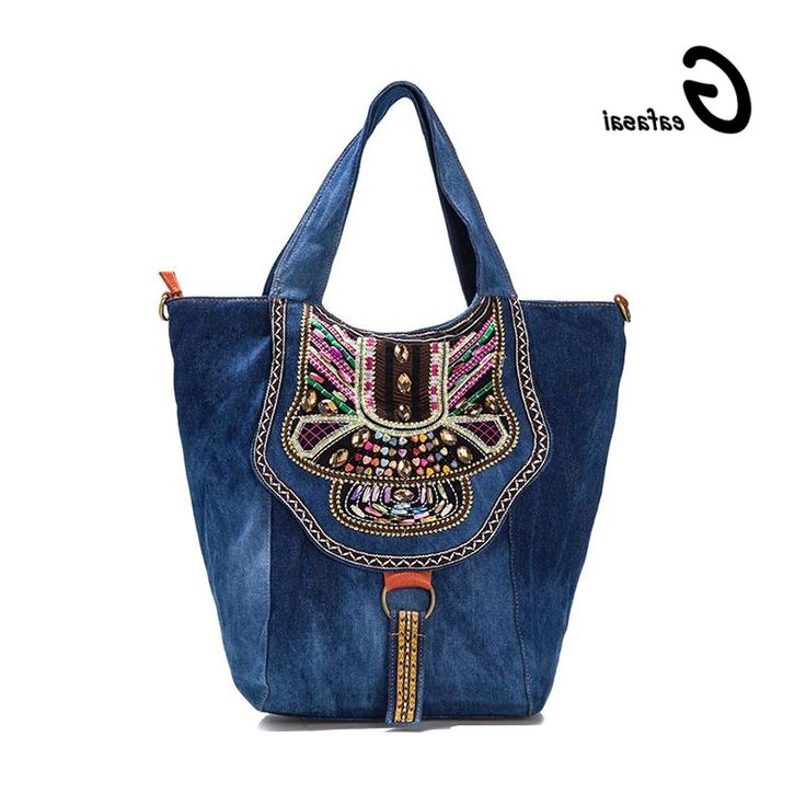 28.76$  Buy now - https://alitems.com/g/1e8d114494b01f4c715516525dc3e8/?i=5&ulp=https%3A%2F%2Fwww.aliexpress.com%2Fitem%2Fcoupon-chinese-ethnic-national-style-Denim-women-handbag-shoulder-casual-tote-bags-lady-embroidered-flowers-colorful%2F32575213565.html - COUPON chinese ethnic national style Denim women handbag shoulder casual tote bags lady embroidered flowers colorful gems Jewels