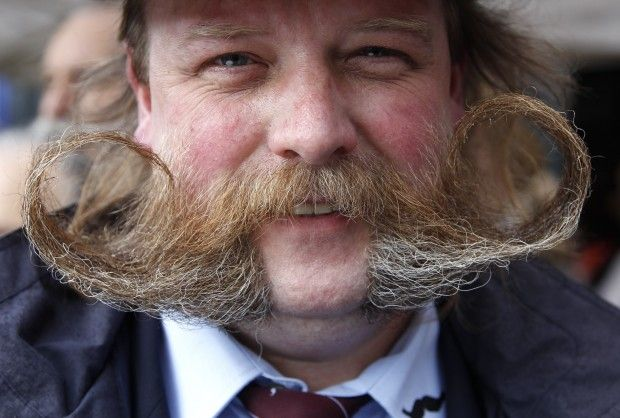 Beard and mustache competition / Brussels