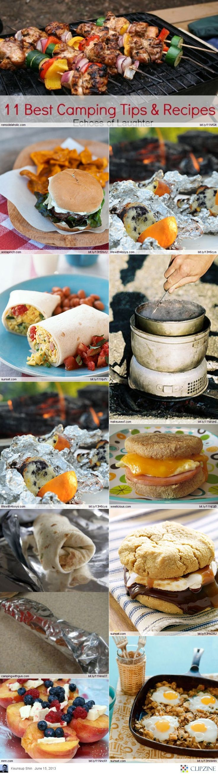 EASY Camping Recipes...