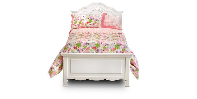 Bedroom expressions chloe twin panel bed ba tmcet 399 for Bedroom express