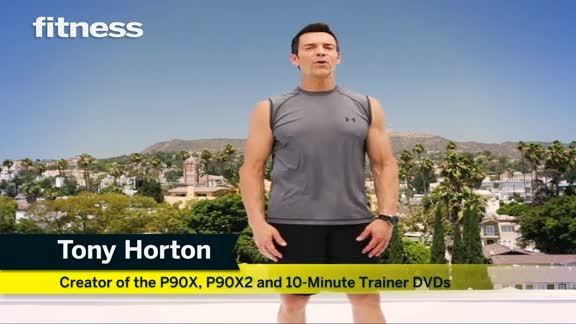how perfect. Tony Horton combined his moves into a short workout video.   no excuses now ha
