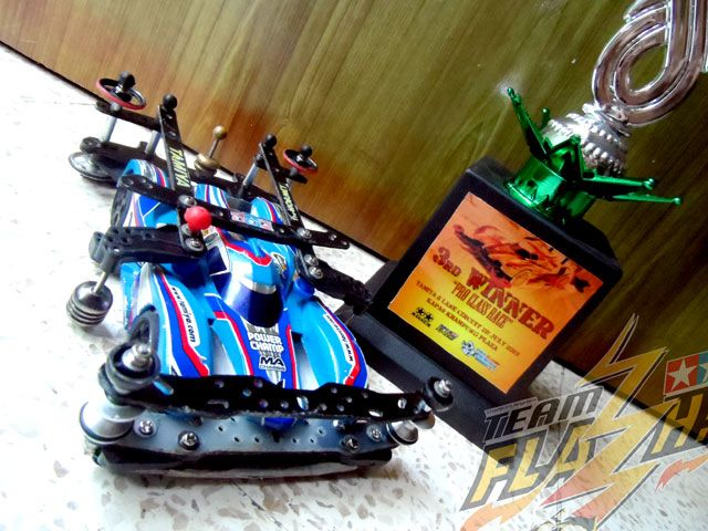 3rd Winner in Tamiya MIni 4WD 5 Lane PRO Series Race - 28 July 2013
