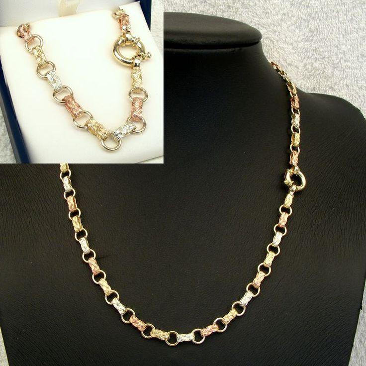 9ct Gold Fancy Gate Chain - - Mildura