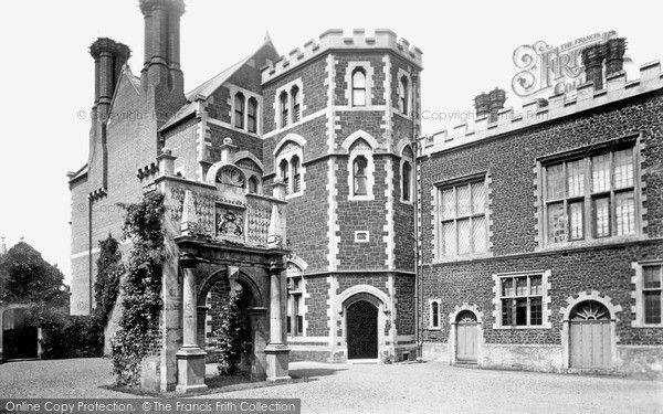 Hunstanton, Old Hall Courtyard 1893, from Francis Frith
