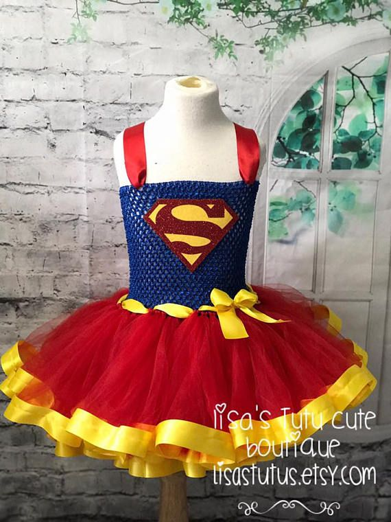 Superman tutu Superman dress Superman Costume Superman