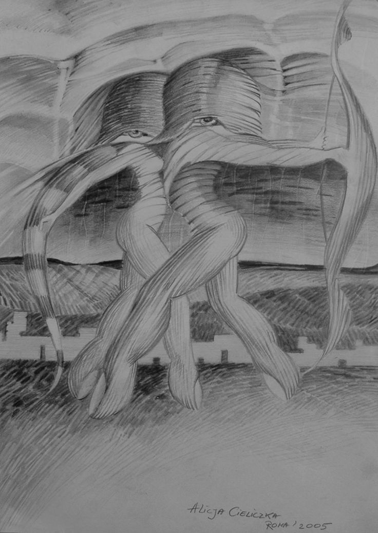 https://flic.kr/p/EYGurG | TANGO | drawing: pencil on paper