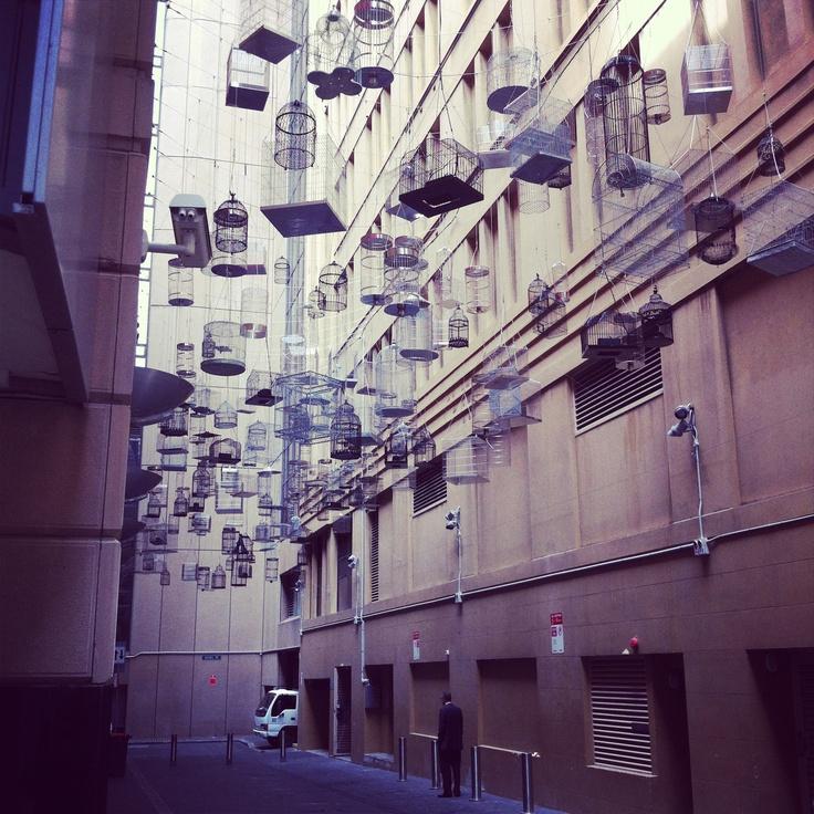 inner city sydney art surprise