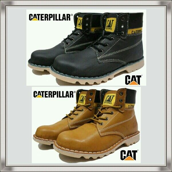 Sepatu Pria Boots CATERPILLAR sz 39-43 @289 Pin:331E1C6F 085317847777  1. WEB:  www.butikfashionmurah.com 2. FB:  Butik Fashion Murah https://www.facebook.com/pages/Butik-Fashion-Murah/518746374899750  3. TWITTER:  https://twitter.com/cswonlineshop 4. PINTEREST:  https://www.pinterest.com/cahyowibowo7121/  5. INSTAGRAM:   https://instagram.com/sepatu_aneka_model/