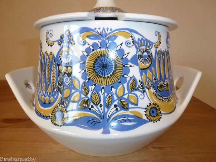 Cute FIGGJO AND FLINT NORWAY TUREEN AND BOWLS GRILL TURI GRAMSTAD OLIVER