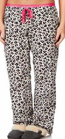 Calvin Klein Womens Calvin Klein Woven Pyjama Bottoms - Geo Womens pyjama bottoms
