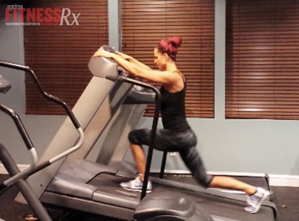 Not Your Average Treadmill Workout - Calisthenics amp up the fun & calorie burn