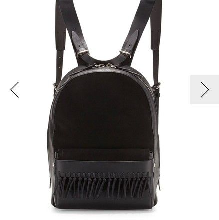 f63c0b863b83 3.1 Phillip Lim Black Leather Suede Backpack 67% off retail