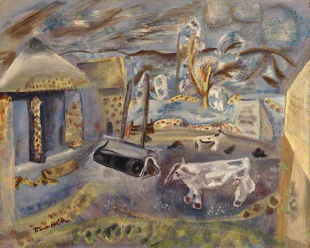 Hodgkins, Frances (1869-1947), Cheviot Farm, 1940, Oil