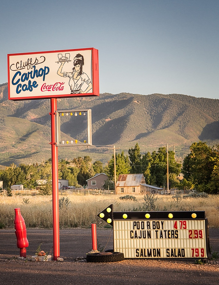 Cluff S Carhop Cafe Fillmore Ut