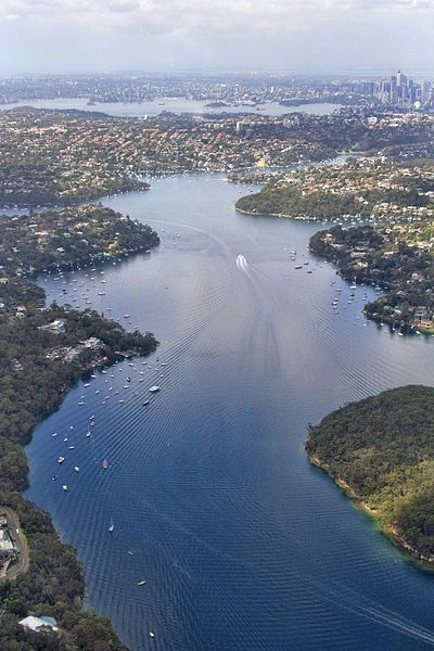 File:Parramatta River From above (8450764898).jpg