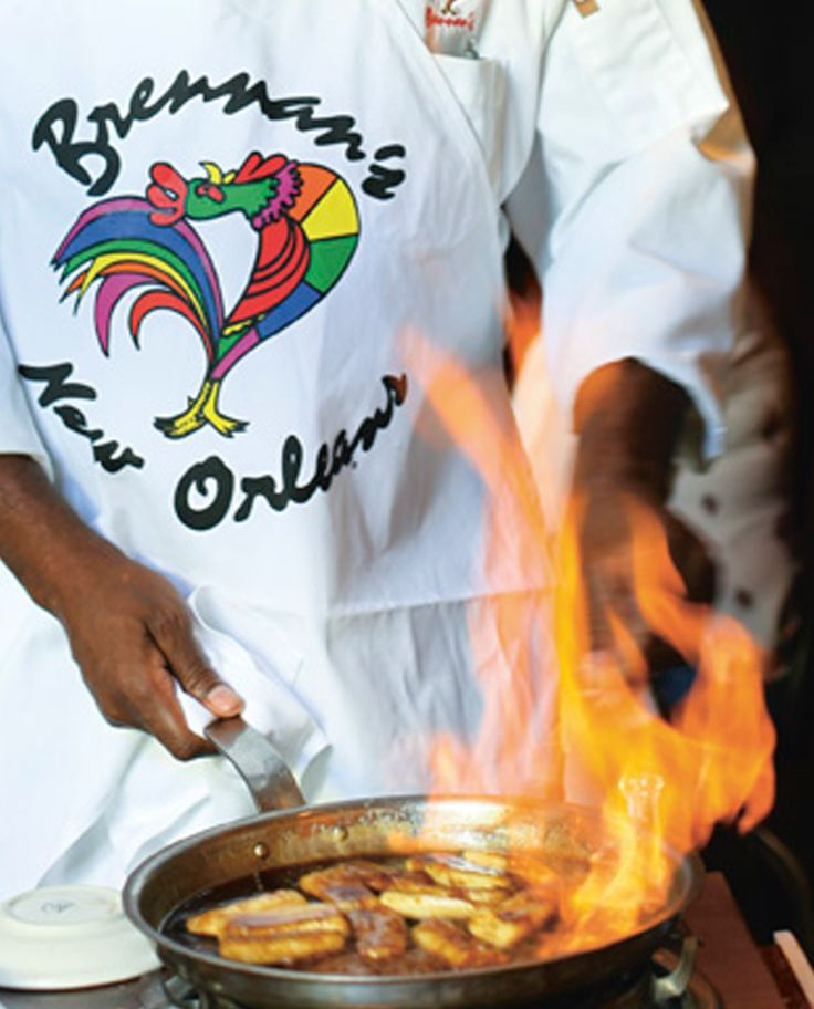 6 Cooking Techniques to Master...from the Masters || Famed New Orleans restaurant Brennan's lays claim to the iconic dessert, a combination of caramelized ripe bananas, brown sugar, rum, butter and cinnamon, set on fire and then poured over vanilla ice cream. In 1951, Chef Paul Blangé supposedly named it after loyal customer Richard Foster. Today, Chef Lazone Randolph, who's been at Brennan's for 47 years, is the resident expert. Here, he reveals how to perfect the flambé ritual...