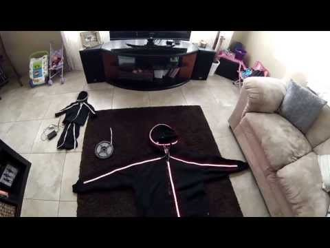 Stick Figure LED Light Costume | Make: DIY Projects, How-Tos, Electronics, Crafts and Ideas for Makers