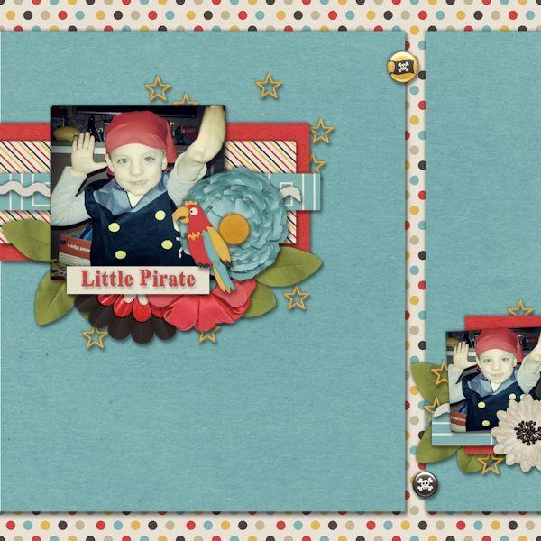Little Pirate Credits: Get Kraken By Blue Heart Scraps The