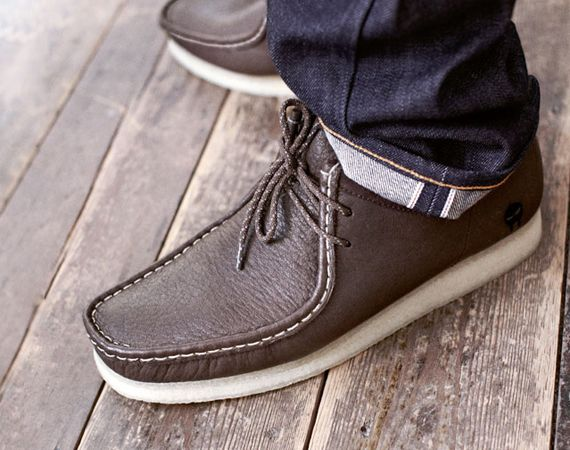 DOOM x Clarks Originals Wallabee