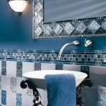 Bathroom-Tiles_20: Interior Design, Bathroom Color, Decor Ideas, Blue Bathrooms, Beautiful Bathroom, Bathroom Ideas, Bathroom Tile, Blue Tiles